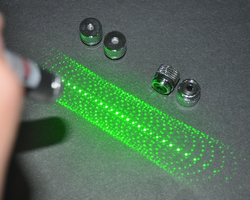 Kaleidoscope Green Laser Pointer