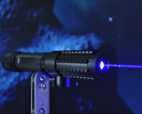 2000mW 2W Handheld Blue Laser Pointer