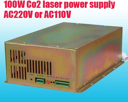 CO2 Laser Power Supply for 100W CO2 Laser Tubes