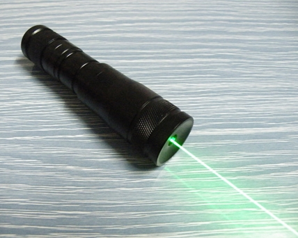 532nm 200mW Green Waterproof Flashlight