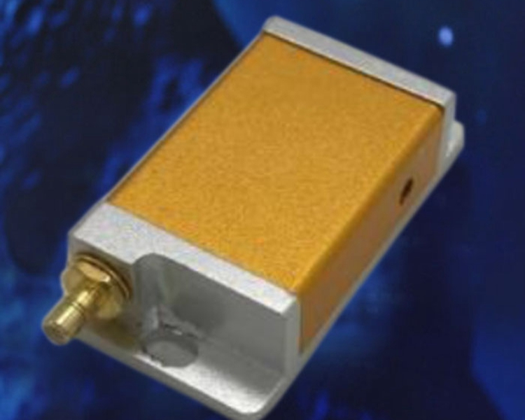 780nm Free-Space Acousto-Optic Modulator without RF Driver