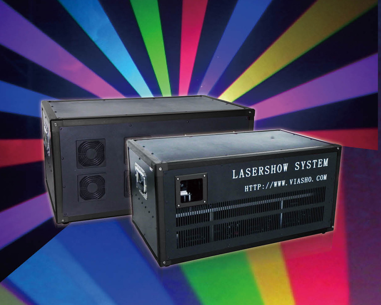 8-30W RGB Air-cooled Lasershow System