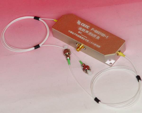 Acousto-optic Q-switch Fiber-coupled with RF driver