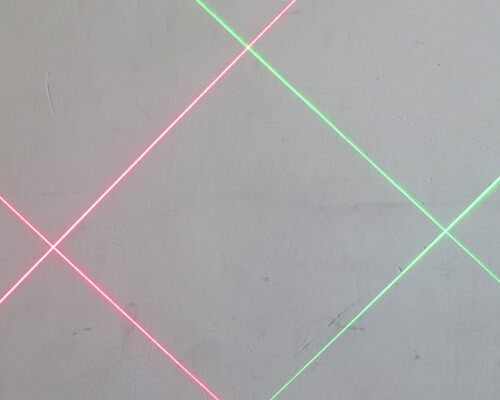 Green Laser Module with Cross Hair Target Dot