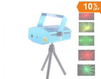Mini Red Green Moving Party Laser Stage Light