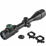 BeamQ Long Range Rifle Scopes 4-16x50mm Red Green Illuminated Mil-dot Reticle1