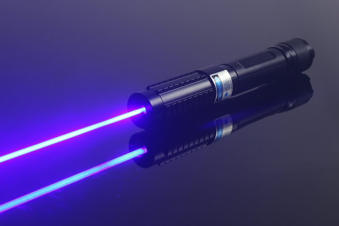 Strong laser pointer