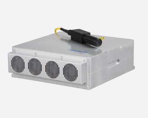 100W Pulsed Fiber Coupled Laser