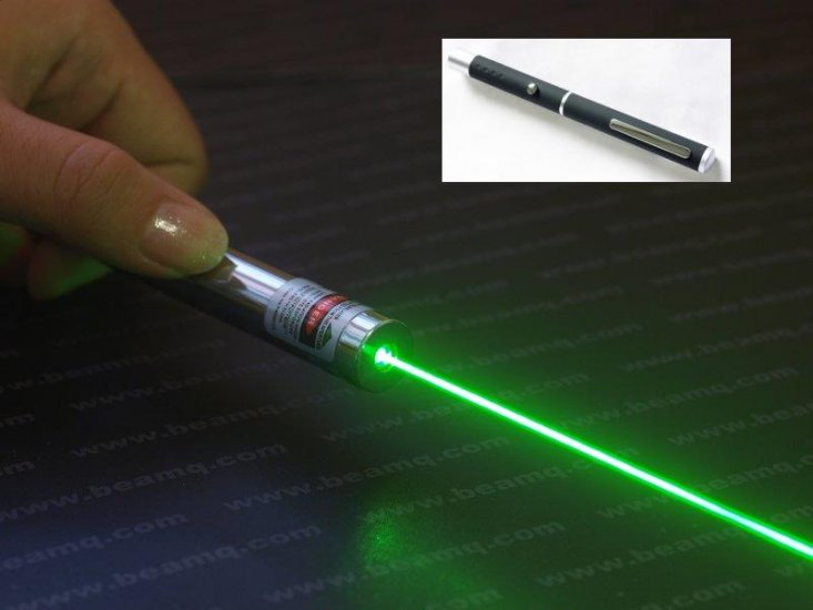Greenlight Laser 200mw Green Laser Light a Match