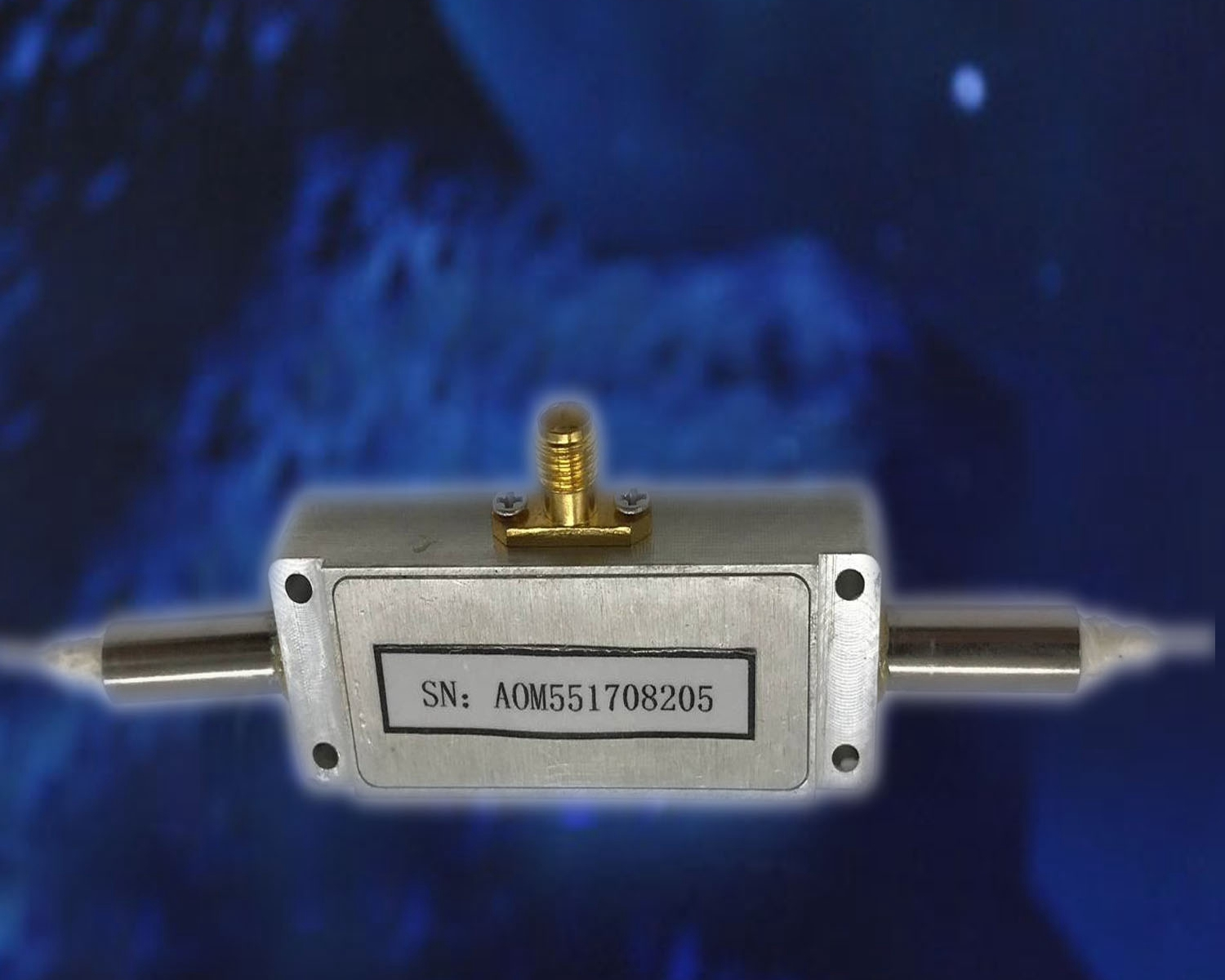 1550nm Fiber-coupled Acousto-optic Modulator/Frequency Shifter AOFS