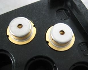 1.6-2W 445nm/450nm/447nm laser diode NDB7875-E 9mm