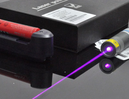 405nm 300mW High power Blue-violet laser pointer Focusable Free