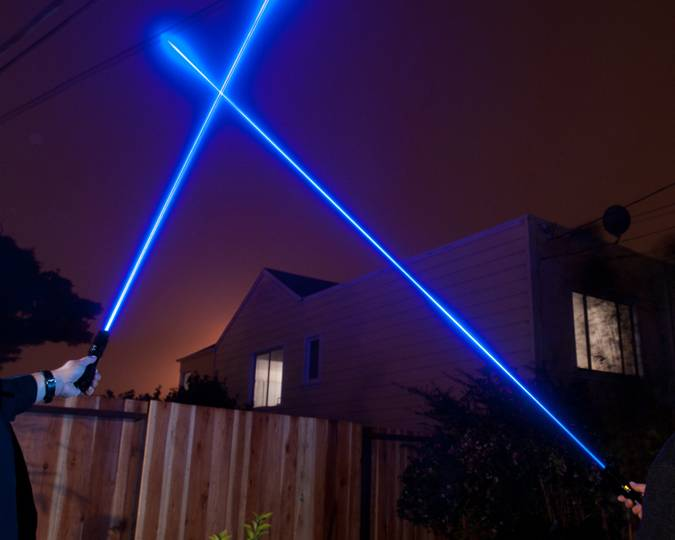 445nm Portable Blue Laser Pointers 800mW