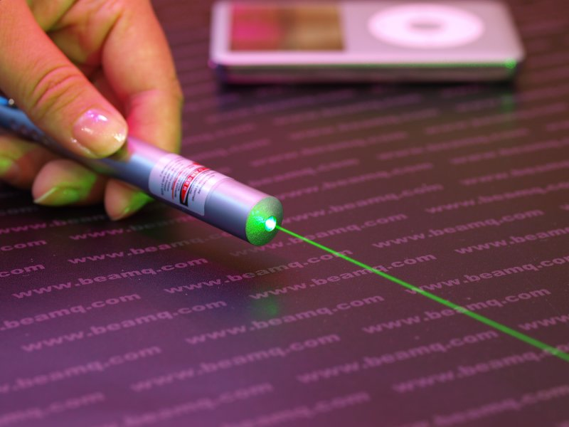 50mw Green Laser Pointer Pearl Color, High Power Green Laser