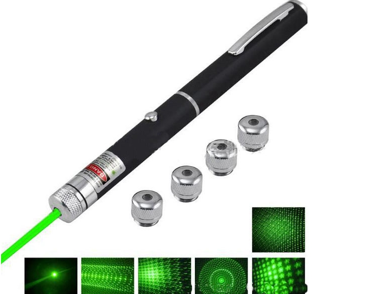 532nm 50MW Five-in -one Green Laser Pointer