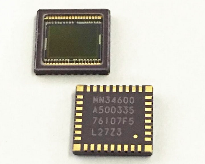 Digital Camera image sensor CCD Panasonic MN34600 WQFN038