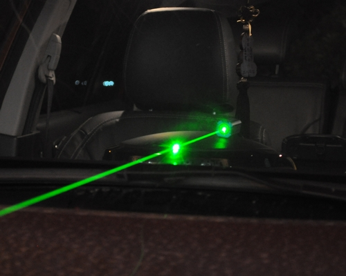 Car Green Lasers