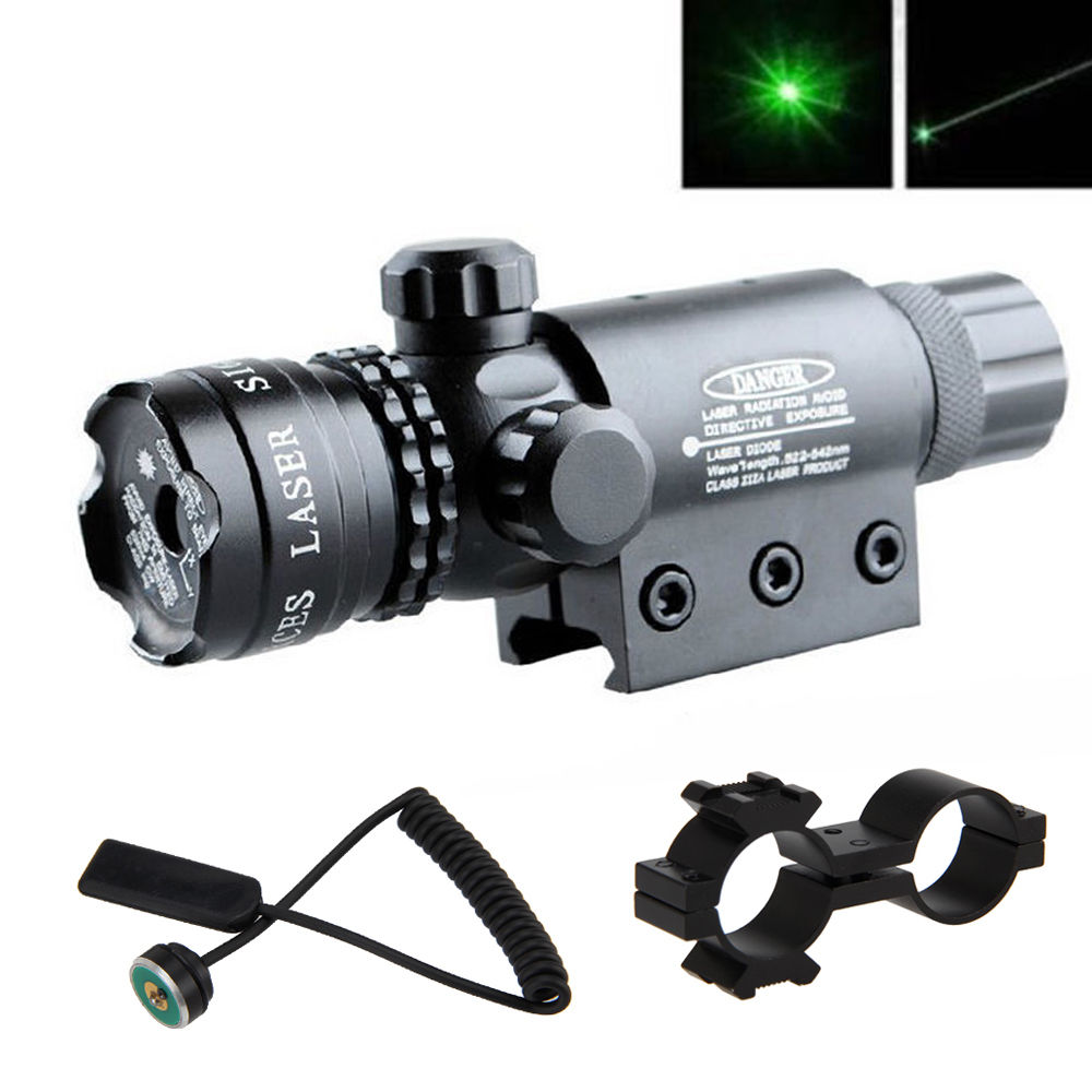 Laser Rifle Sight Green Color High Power 200mW