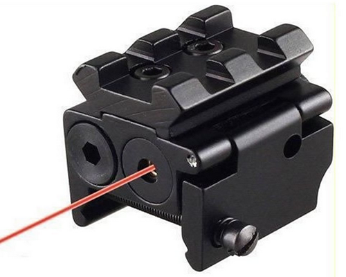 Mini Compact Pistol Red Laser Sight fit Picatinny Rail
