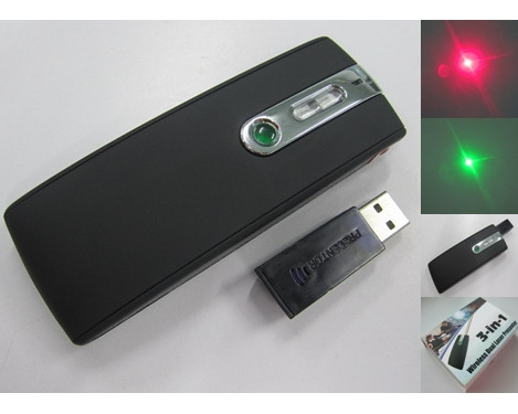 Red Green Laser Presenter