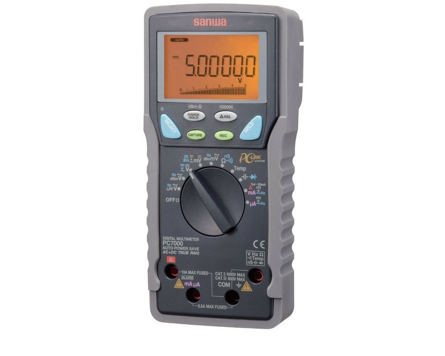 SANWA PC7000 High Resolution Digital Multimeter instead of PC5000a